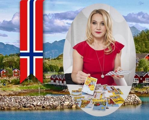 Polska wróżka w Oslo w Norwegii